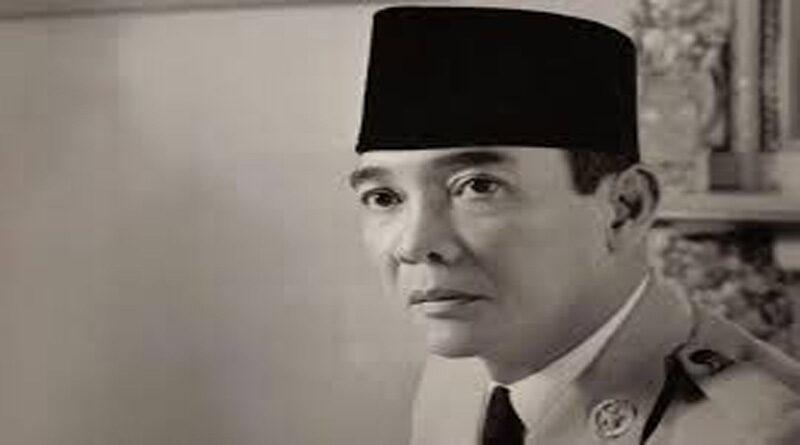 Biografi Singkat Soekarno, Presiden Pertama  Republik Indonesia